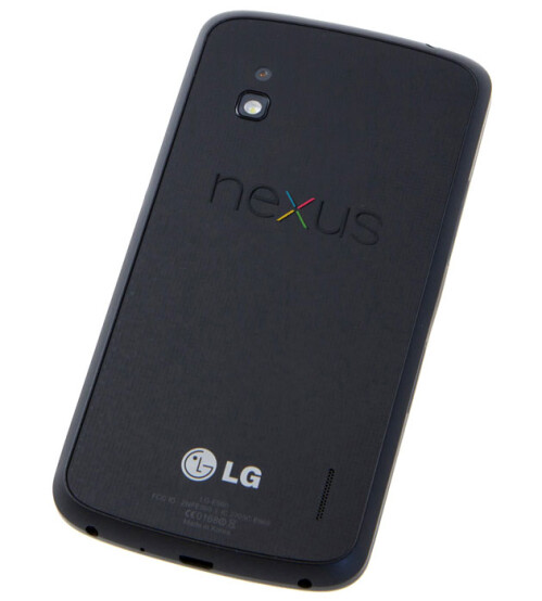 Mockup of the LG Nexus 4