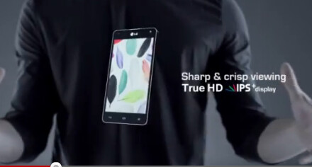 No pentile display on this beast - LG Optimus G stars in official LG product movie