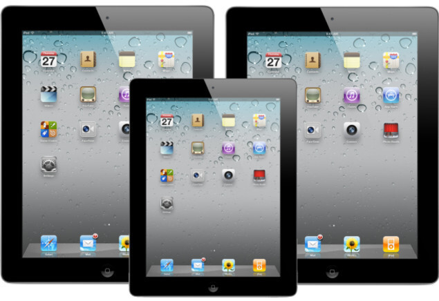 Using a mockup to compare the size of the Apple iPad mini - Reuters: October 23rd confirmed as the date when Apple will introduce the Apple iPad mini