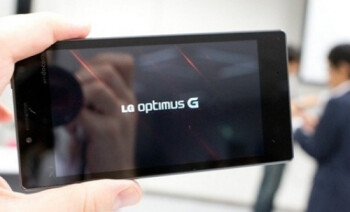 The monster LG Optimus G should get plenty of ad support in Q4