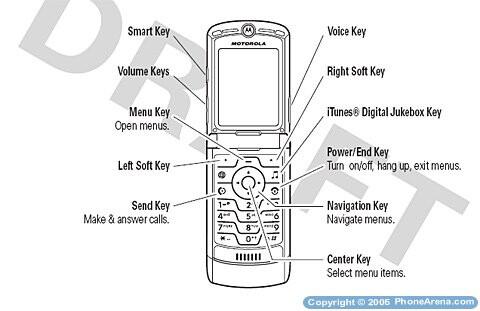Motorola V3i approved by FCC