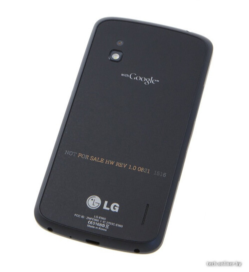 LG Nexus 4 full preview appears