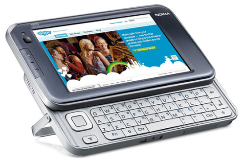 2007 and Nokia N810: leaving the phone function out was a political decision