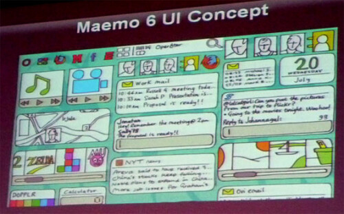 Maemo 6 UI concepts appeared