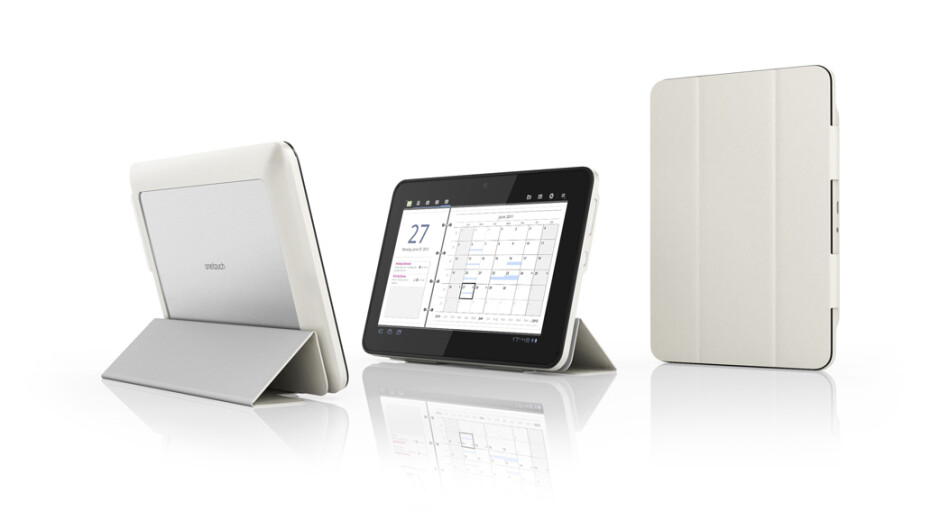 The Alcatel One Touch Evo7 tablet - Alcatel One Touch Evo7 is a modular tablet with optional, removable 3G radio