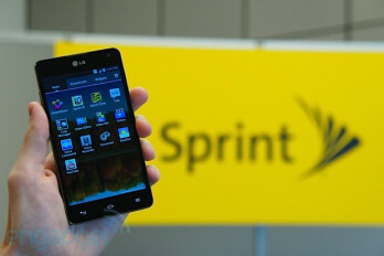 Sprint's version of the LG Optimus G features a 13MP camera
