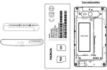 The Nokia Lumia 920 and Nokia Lumia 820 visit the FCC