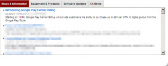 Verizon getting carrier billing for Google Play on Thursday