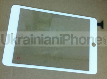 There will be cameras on the front and back of the iPad mini