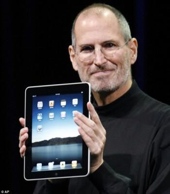 Late Steve Jobs introduces the OG Apple iPad