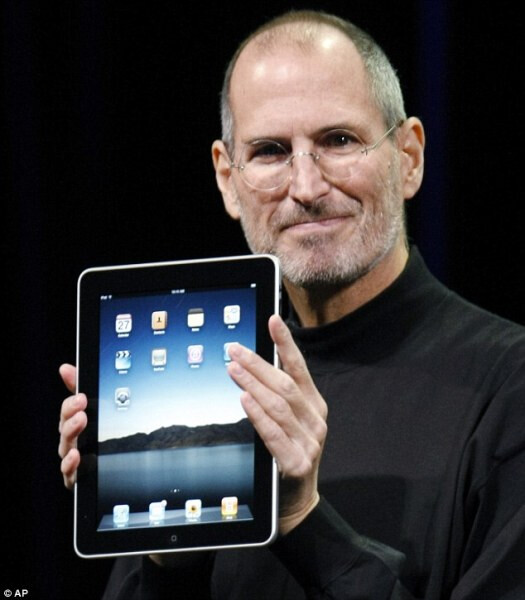 Late Steve Jobs introduces the OG Apple iPad - Apple receives patent for original Apple iPad design; it's one more arrow in the quiver