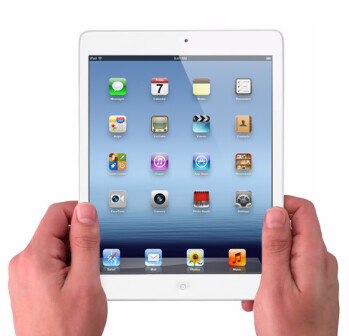Mockup of the Apple iPad mini