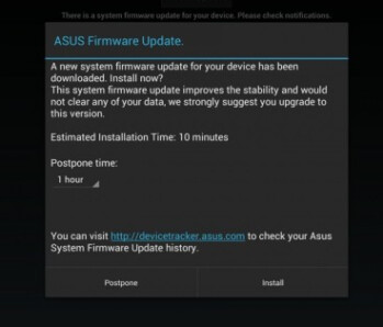 The Asus Transformer Pad Infinity TF700 received a minor update