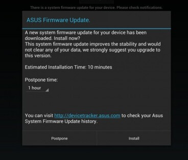 The Asus Transformer Pad Infinity TF700 received a minor update - Asus Transformer Pad Infinity TF700 gets minor update