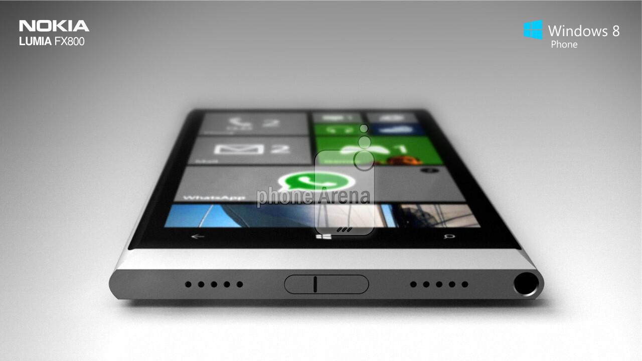 Titanium Lumia FX800 design concept screams 'Nokia, take ...