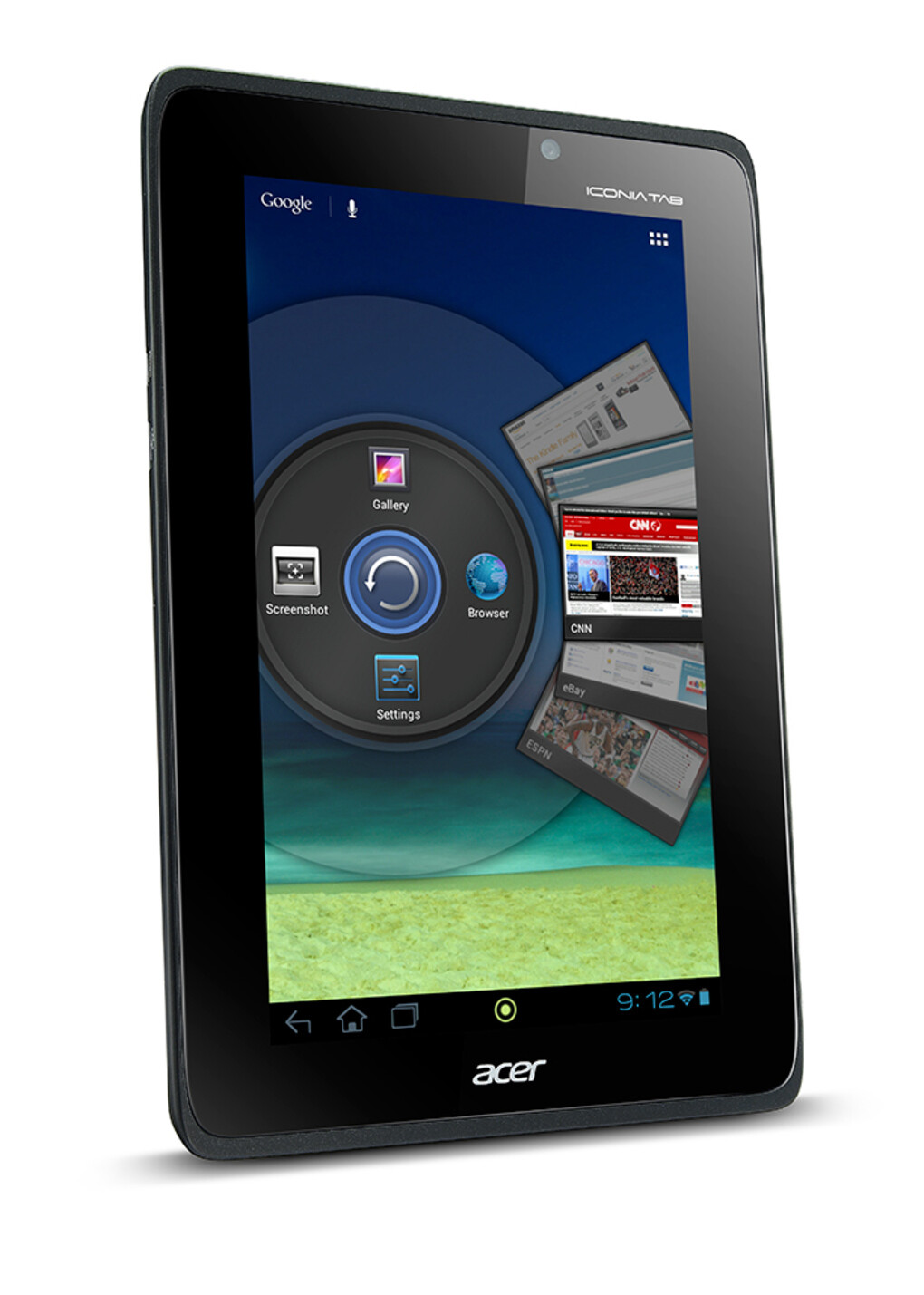 Acer Iconia Tab A110 goes right after Nexus 7 with a $230 ...