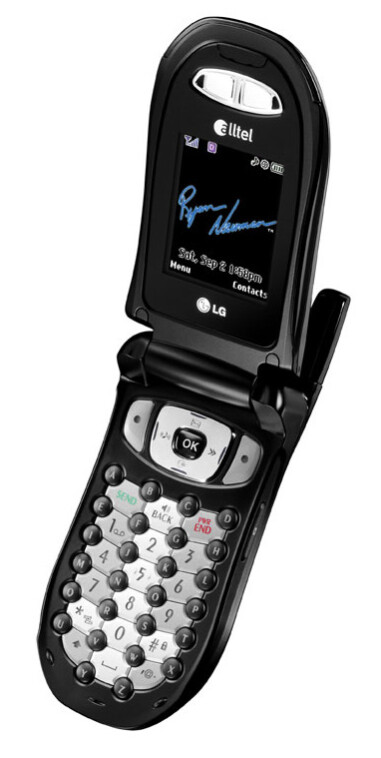Alltel launches first Fastap phone in the US - LG AX490