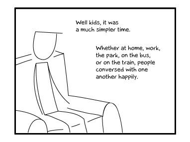 Life before smartphones