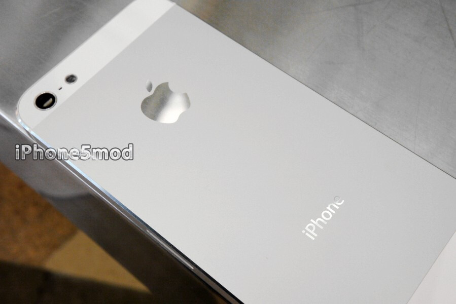 Fix iPhone 5 scratches with a $99 back plate replacement