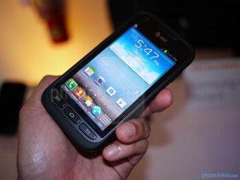The rugged Samsung Galaxy Rugby Pro