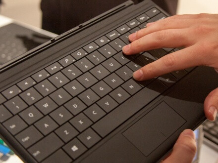The Type Cover accessory - Microsoft Surface RT pre-sales red hot; shipping dates pushed back