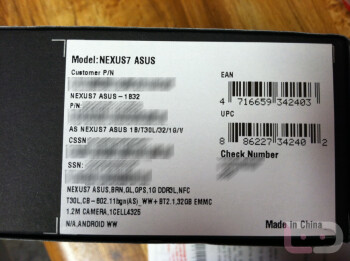 The 32GB Google Nexus 7 was sold early at a Florida Staples