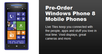 Two Windows Phone 8 models can be pre-ordered now on Best Buy's web site