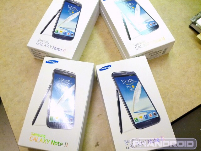 As the Samsung GALAXY Note II arrives at T-Mobile stores, a leaked release mentions the October 24th launch date - T-Mobile to launch Samsung Galaxy Note II on Wednesday says leaked memo