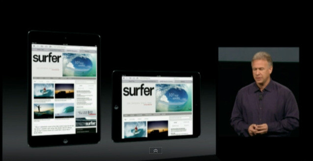 Apple sticks to the 4 by 3 display aspect ratio with the iPad mini - iPad mini is officially announced