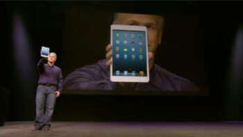 Apple sticks to the 4 by 3 display aspect ratio with the iPad mini
