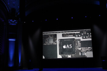 The iPad mini sports an Apple A5 chip