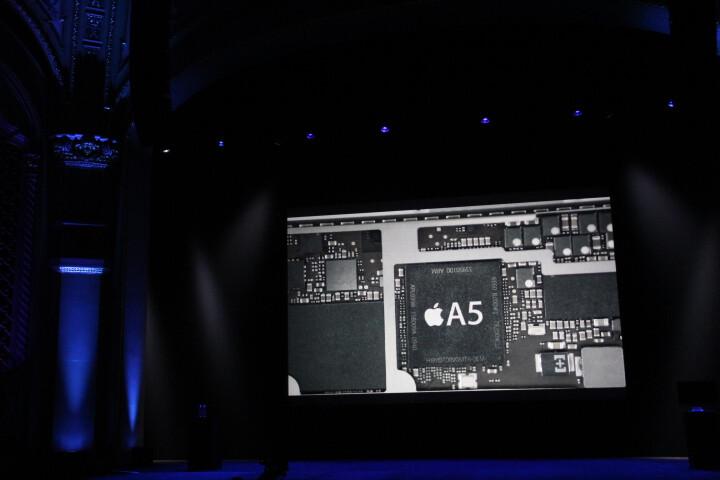 The iPad mini sports an Apple A5 chip - iPad mini is officially announced