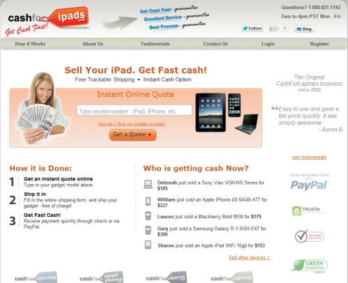 Cashforipads.com