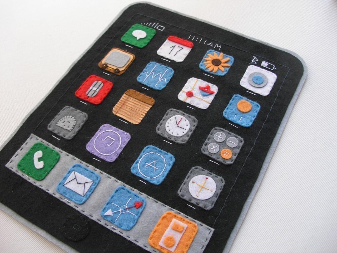 Felt iPad mini case - $49
