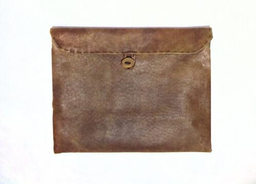 Hand Finished Leather iPad Mini Case - $68