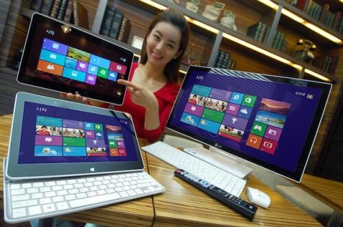 LG Windows 8 Sliding Tablet (Win 8, Ivy Bridge, $950)