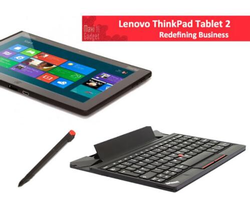 Lenovo ThinkPad Tablet 2 (Win 8, Intel Atom, $650)