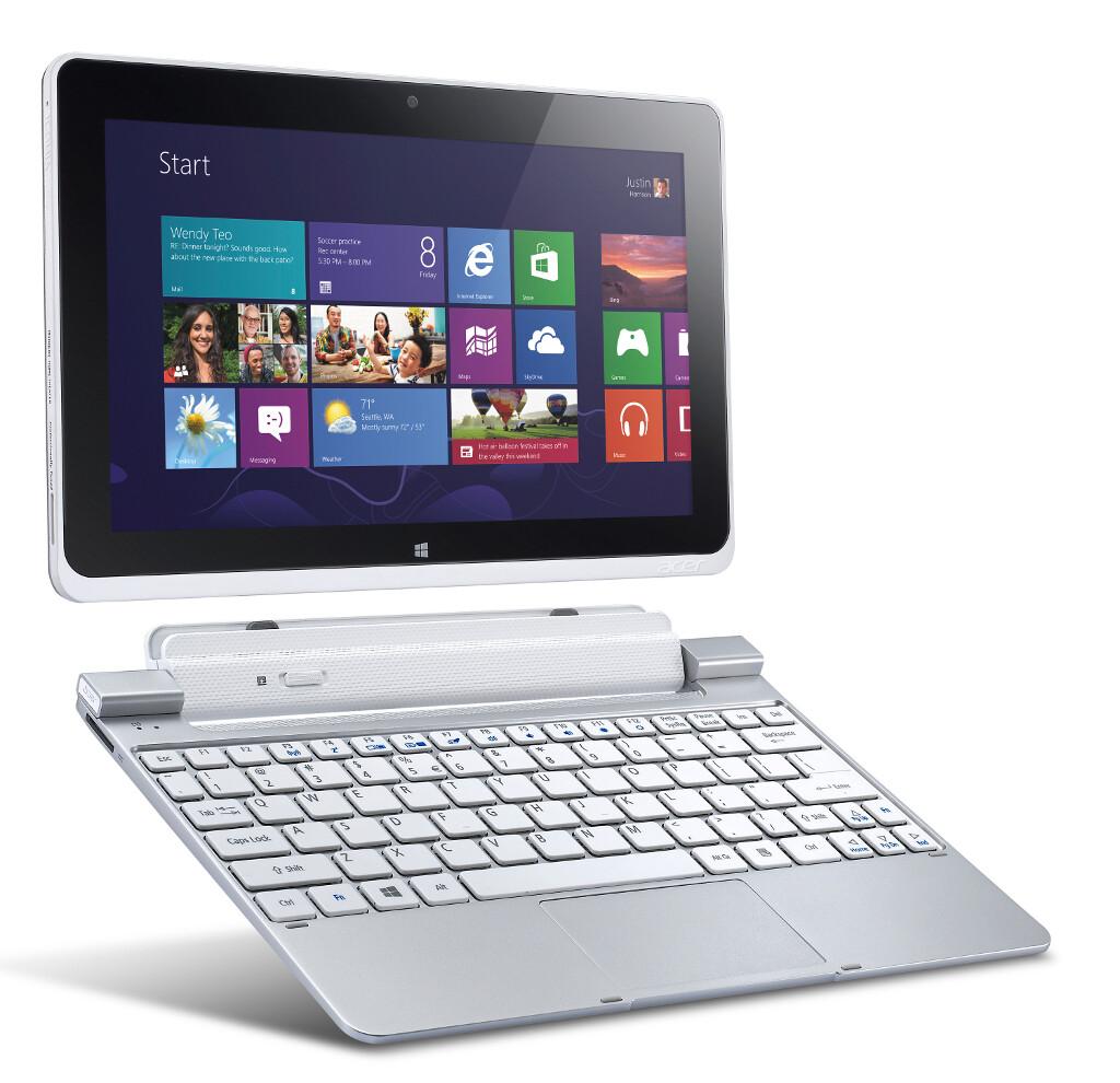 Acer Iconia Tab W510 (Win 8, Intel Atom, $500)