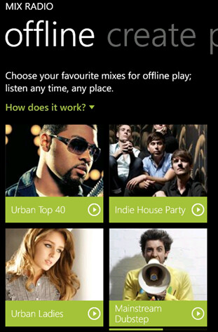 Nokia Music update allows you to create a mix and listen offline - Nokia Music gets update to version 3.5