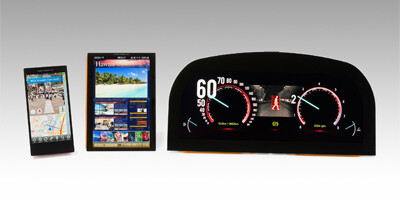 """Sony high-res WhiteMagic displays for phones, tablets and cars - Sony Odin could sport a 5"""" Full HD WhiteMagic display, fuzzy Sony Yuga pics hint at glass chassis"""