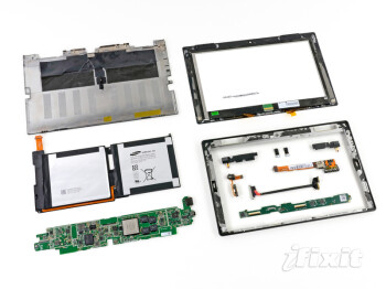 Microsoft Surface tablet gets the teardown treatment, repairability score below average