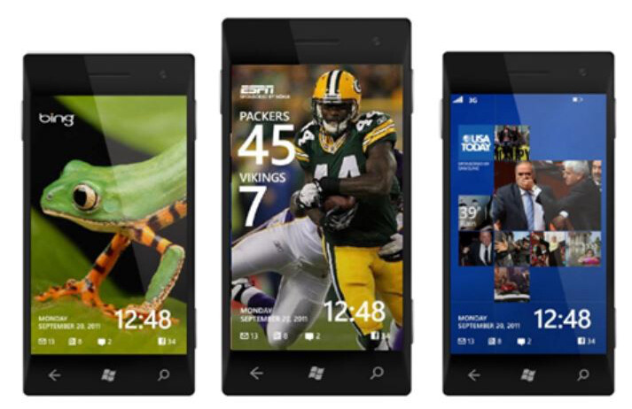 Live lock screen wallpapers arrive with Windows Phone 8, including real time Facebook updates