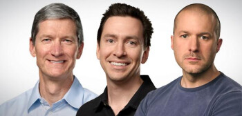 Cook, Forstall, and Ive.