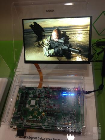 Exynos 5250 board to WQXGA screen