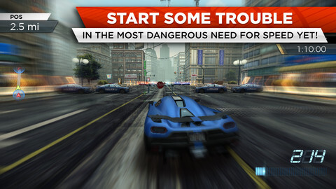 Need for Speed Most Wanted is out for iOS - Need For Speed Most Wanted now available for iPhone and Android