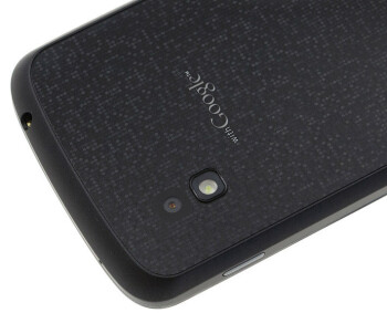 The sparkling back of the LG Nexus 4