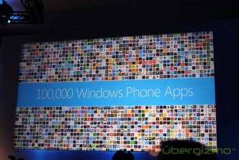 There are 125,000 apps in the Windows Phone Marketplace at last count