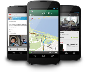 The LG Nexus 4 supports HSPA speeds as fast as 42Mbps