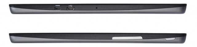 Side views of the tablet - Quad-core 7 inch Acer Iconia Tab A110 available online for just $229.99