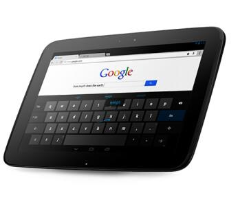 Samsung built Google Nexus 10